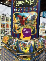 Brand-new Harry Potter jigsaw puzzles from a new vendor.